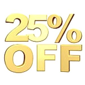 25% OFF ALL JEWELRY (EXCLUDING HARLEY-DAVIDSON)